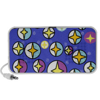 Starry Night Sky Orbs Mp3 Speaker