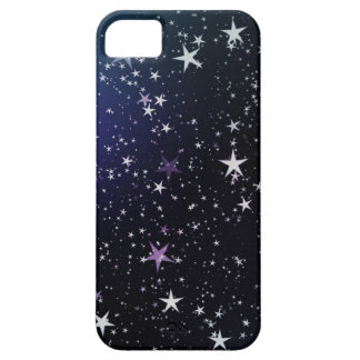 Starry night sky star pattern iPhone 5 cases