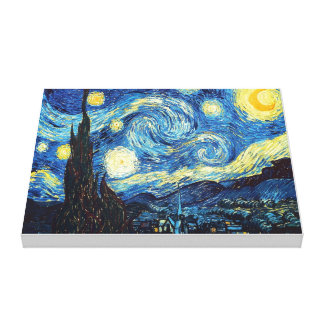 Starry Night Stretched Canvas Prints