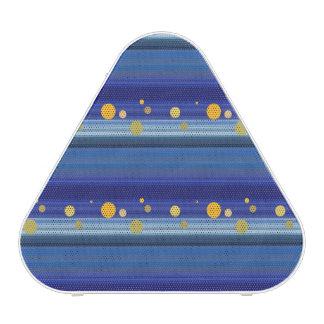 Starry Night Stripes Pattern Art