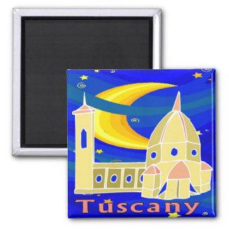 Starry Night Tuscany Fridge Magnet