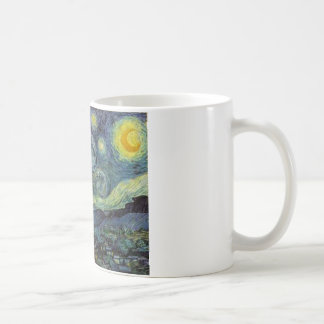 Starry Night - van Gogh Basic White Mug