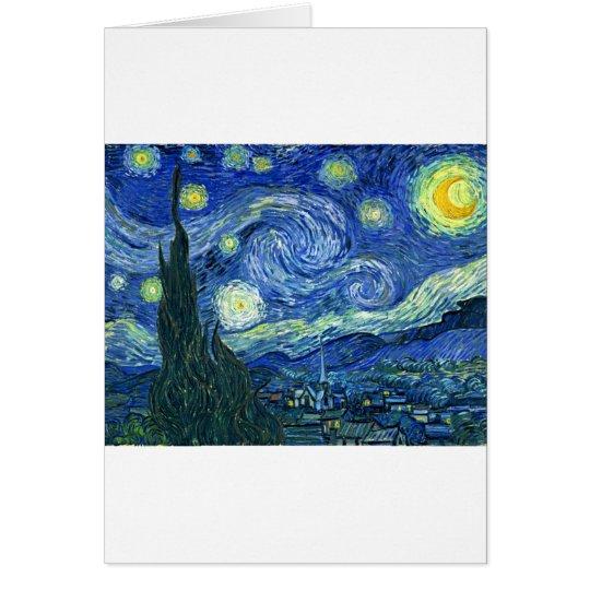 Starry Night ~ Van Gogh Card