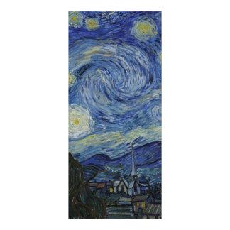 Starry Night Van Gogh Customized Rack Card
