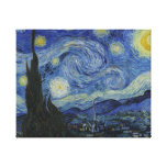 Starry Night Van Gogh Gallery Wrapped Canvas