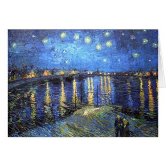 Starry Night: Van Gogh Greeting Card