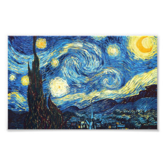 Starry Night - Van Gogh Photo