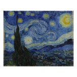 Starry Night Van Gogh Poster