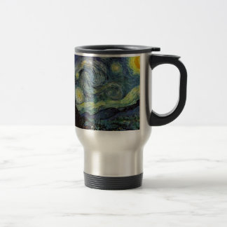 Starry Night - van Gogh Stainless Steel Travel Mug