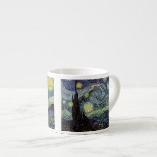 Starry Night, Vincent Van Gogh. Espresso Mug