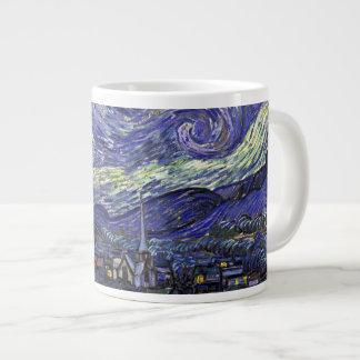 Starry Night, Vincent Van Gogh. Jumbo Mug