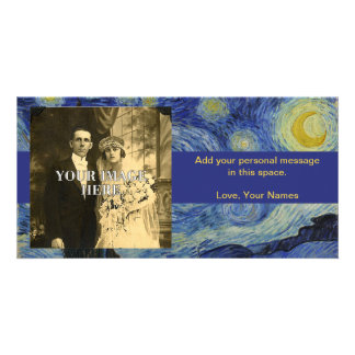 Starry Night Vincent van Gogh Painting Photo Card
