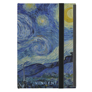 Starry Night Vincent van Gogh Personalized iPad Mini Cases