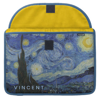 Starry Night Vincent van Gogh Personalized Sleeves For MacBook Pro