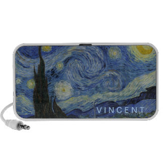 Starry Night Vincent van Gogh Personalized Travel Speaker
