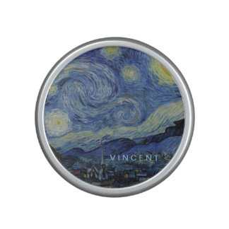 Starry Night Vincent van Gogh Personalized Speaker