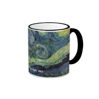 Starry Night, Vincent van Gogh Ringer Mug