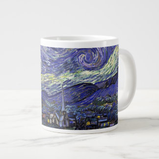 Starry Night, Vincent Van Gogh. Extra Large Mugs
