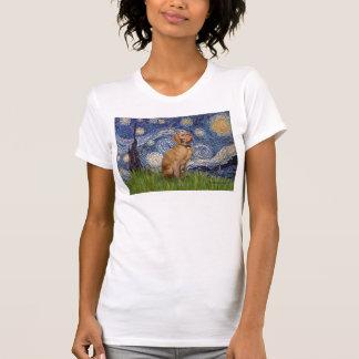Starry Night - -Vizsla 2 T-Shirt