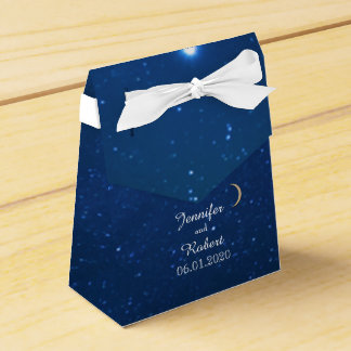 Starry Night Wedding Favor Box