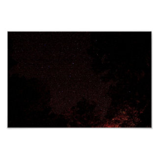Starry Night, West Virginia Poster