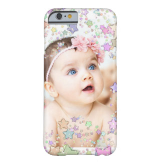 Starry Personalized Baby Photo Cell Phone Case