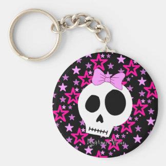 Starry Punk Keychain