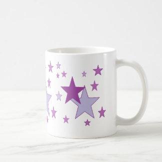 starry purple mug