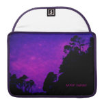 "Starry purple night Macbook Pro 13"" sleeve"