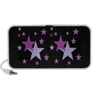 starry purple iPhone speakers