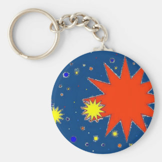 Starry Skies Key Ring