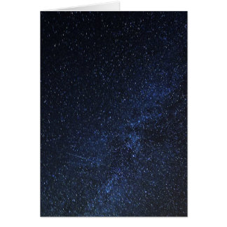 Starry sky card