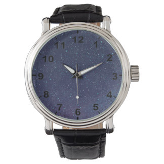 """Starry Sky"" design wrist watch"