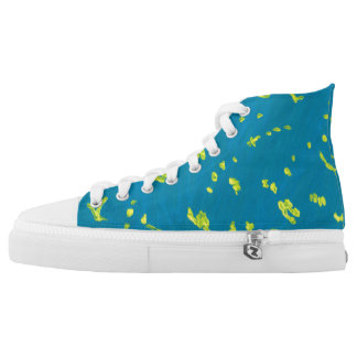 Starry Sky High Tops Printed Shoes