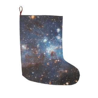 Starry Sky Large Christmas Stocking