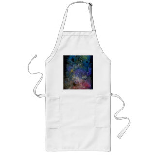 Starry sky - orion or milky way cosmos long apron