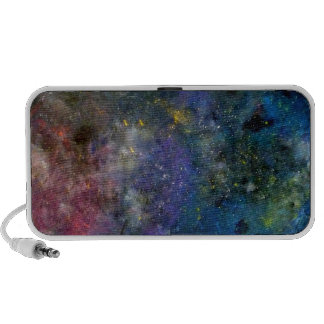 Starry sky - orion or milky way cosmos travelling speakers