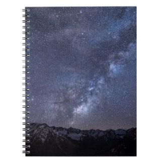 Starry Sky Spiral Notebook