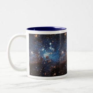 Starry Sky Two-Tone Coffee Mug
