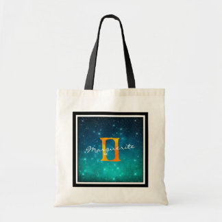 Starry Sky Zodiac Sun Sign Gemini Tote Bag