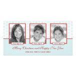 Starry Snowflakes Holiday Photo Card