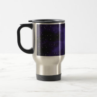 Starry Space Nebula Scene Mugs