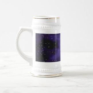 Starry Space Nebula Scene Coffee Mugs