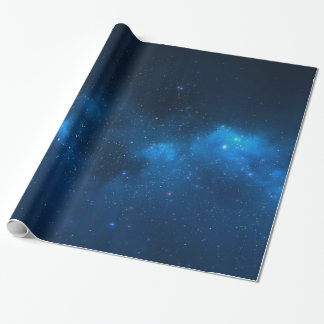 STARRY SPACE WRAPPING PAPER