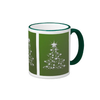 Starry Sparkling Christmas Tree Mug