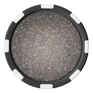 Starry Splendor in Core of Omega Centauri Poker Chip Set