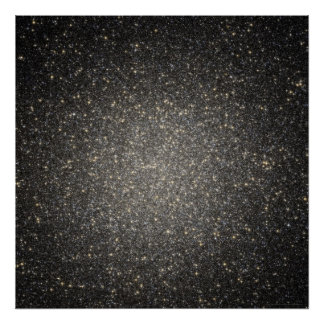 Starry Splendor in Omega Centauri 52x52 (36x36) Poster