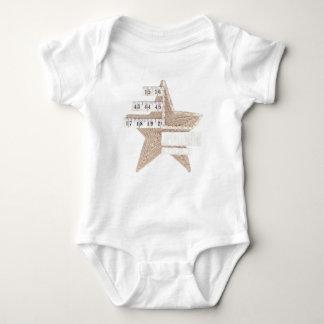 Starry Star Babygro Baby Bodysuit