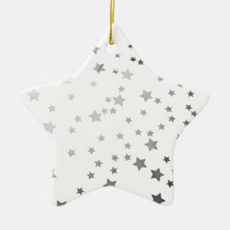 Starry Star Christmas Ornament