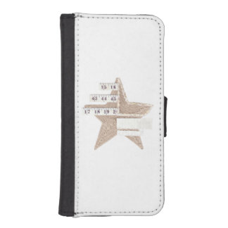 Starry Star I-Phone 5/5S Wallet Case